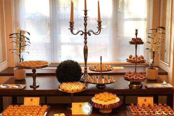 Contemporary Dessert Table