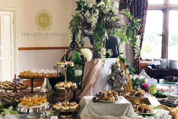 Elephant Dessert Table