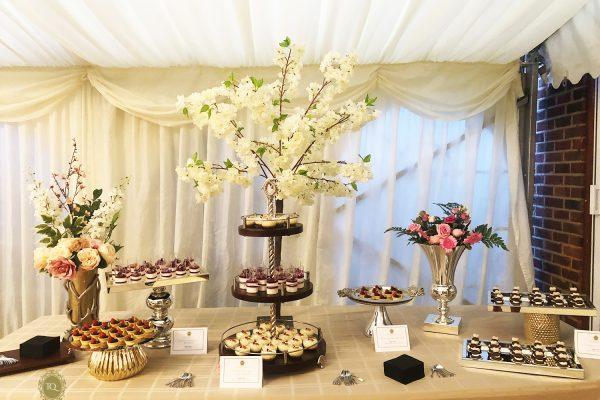 White FairyTale Dessert Table
