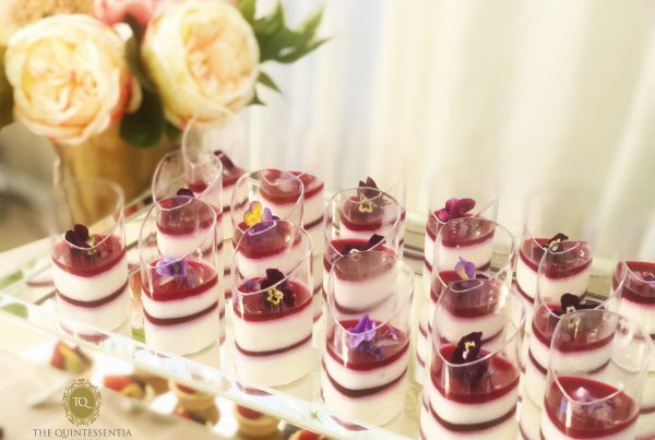 Lychee Hibiscus Mousse
