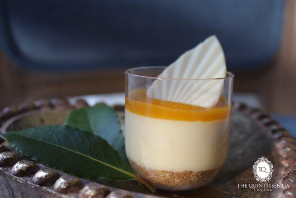 Mango Passion Fruit Cheesecake