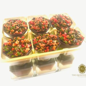 Chocolate Paan Cups